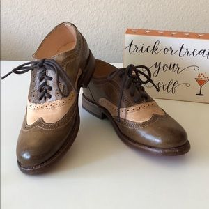 NWOT Bed Stu Channing Oxford Shoes
